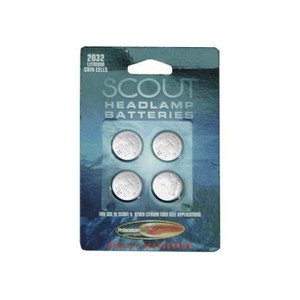 CR 2032 BATTERIES FOR SCOUT 4P