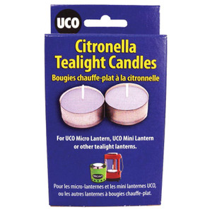 CITRONELLA TEALIGHT CANDLE 6PK
