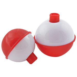 FLOAT SNAP ON RED/WHT 3PK