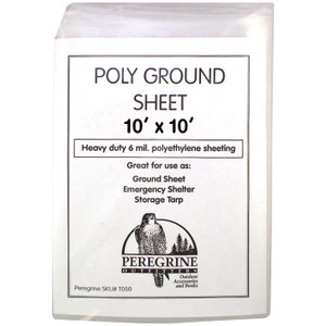 POLY GROUND SHEET 10 X 10
