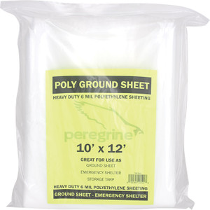 POLY GROUND SHEET 10 X 12
