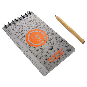WATERPROOF NOTEBOOK 3X5
