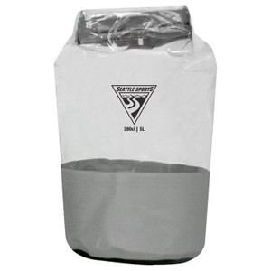 GLACIER CLEAR DRY BAG GREY 5L