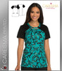 Careisma Printed Just Scroll With It Women's Round Neck Top