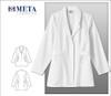 """835 Meta Ladies 30"""" Stretch White Labcoat"""