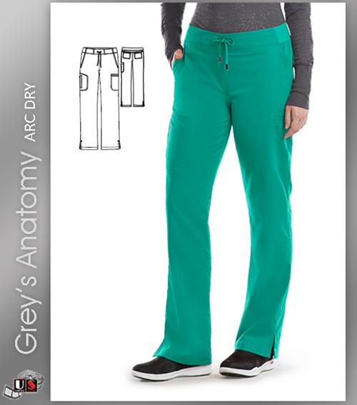 Grey's Anatomy Arc Dry Women's Drawstring Scrub Pant