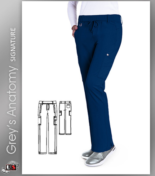 Grey's Anatomy™ Signature Women's Olivia Trouser Cargo Scrub Pant