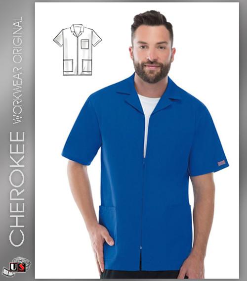 Cherokee Workwear Originals Men's Zip Front Jacket