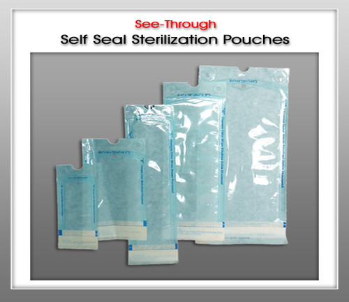 UNIPACK See-Through Self Seal Sterilization Pouches