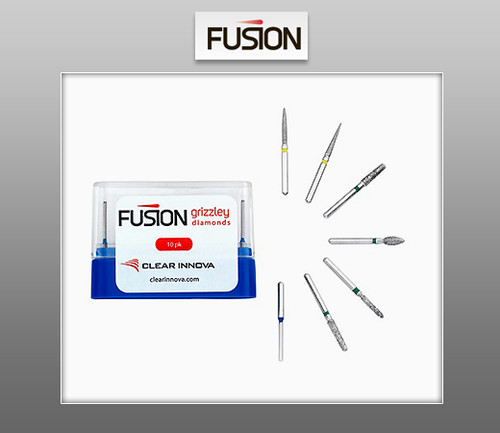 FUSION Grizzley Diamonds - Dental Diamond Burs
