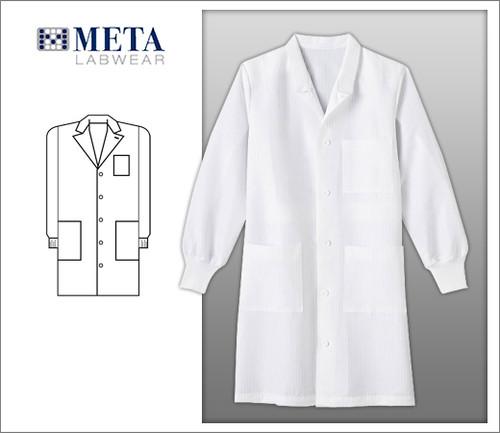 Meta Unisex Fluid Resistant Anti-Static Labcoat