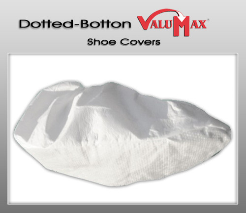 Valumax Dotted-Bottom Liquid Guard Shoe Covers