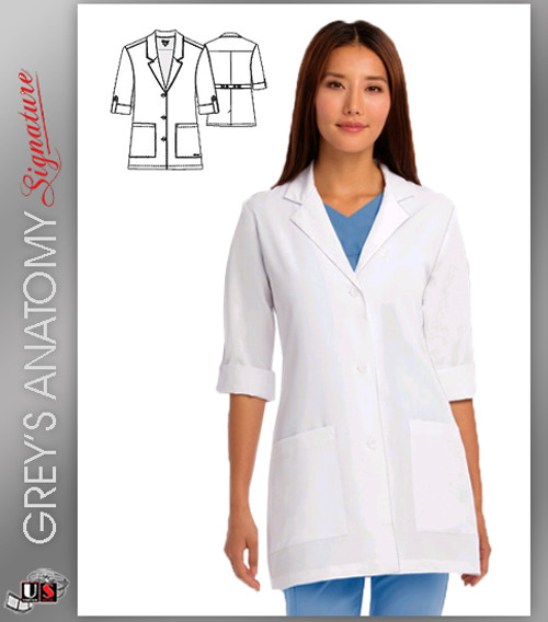 """Grey's Anatomy™ Signature arclux™ With 4-Way Stretch  31"""" Women's Lab"""
