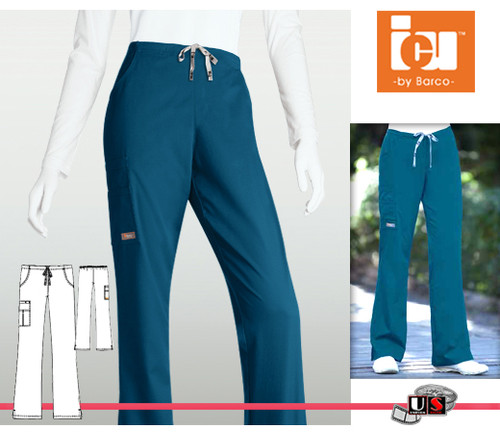 ICU Barco Solid arcRelease™ 5 Pocket Cargo Flair Pant