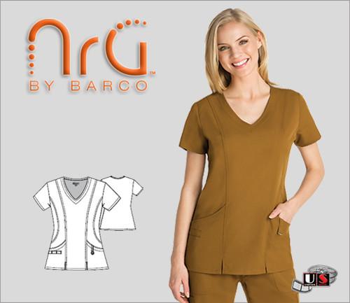 Barco NRG arcFlex™  2 Pocket Fashion V-Neck