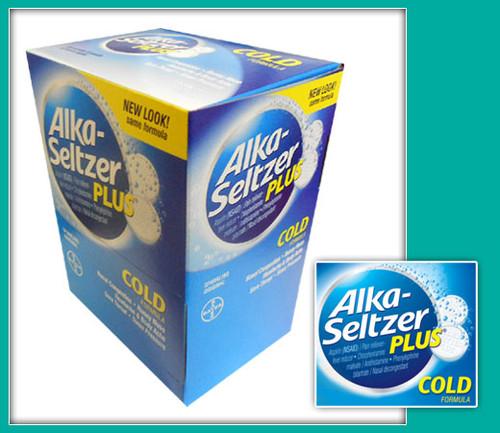 Alka-Seltzer Plus Cold Formula Effervescent Tablets 20CT