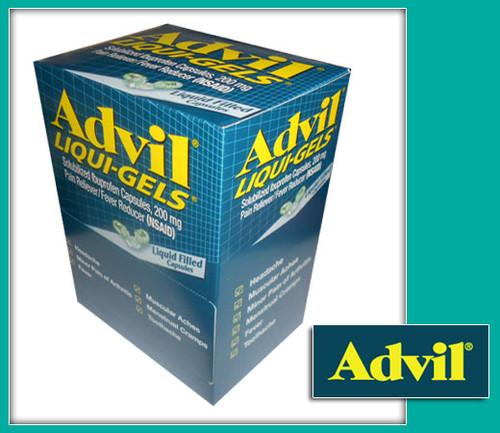 Advil Pain Reliever/Fever Reducer Liqui-Gels 50CT