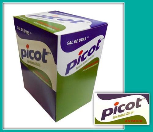 Picot Antacid SAL DE UVAS Effervescent Powder 48CT