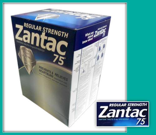 Zantac 75 Regular Strength Tablets 20ct