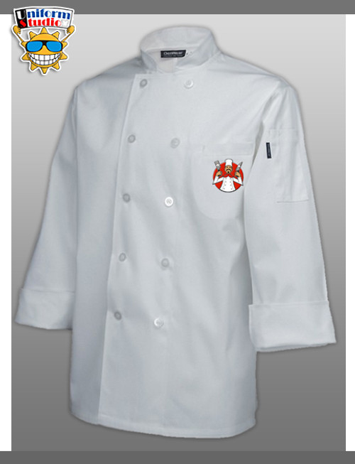 Uniform Studio Womens Chef Coat