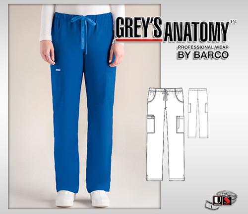 Grey's Anatomy Women's 5 Pocket Straight Leg Pant
