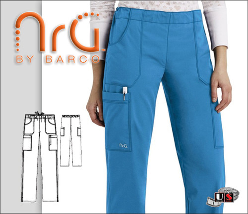 Barco NRG Uniforms Women's 4 Pocket Cargo Pant