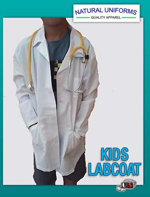 Natural Uniforms Unisex Lab Coat Childrens Uniform