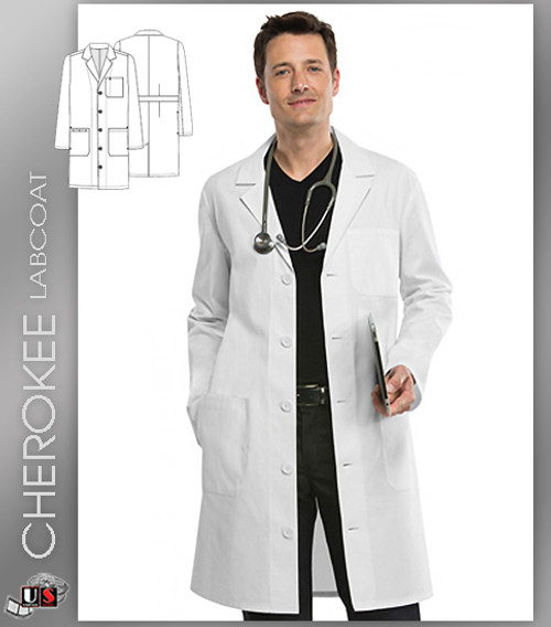 "CHEROKEE Next Generation 40"" Unisex Fit Lab Coat"