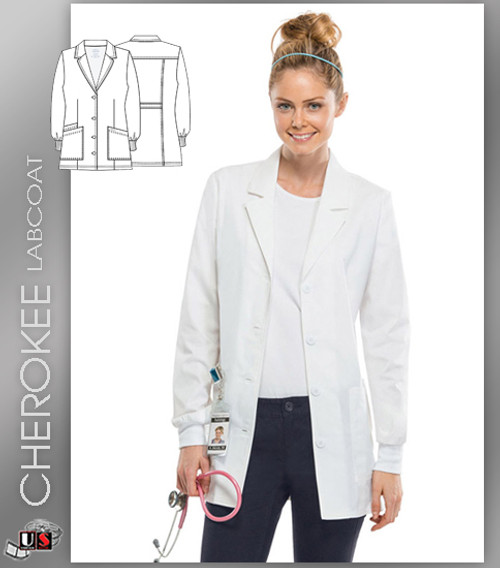"CHEROKEE Next Generation 30"" Women's Lab Coat"