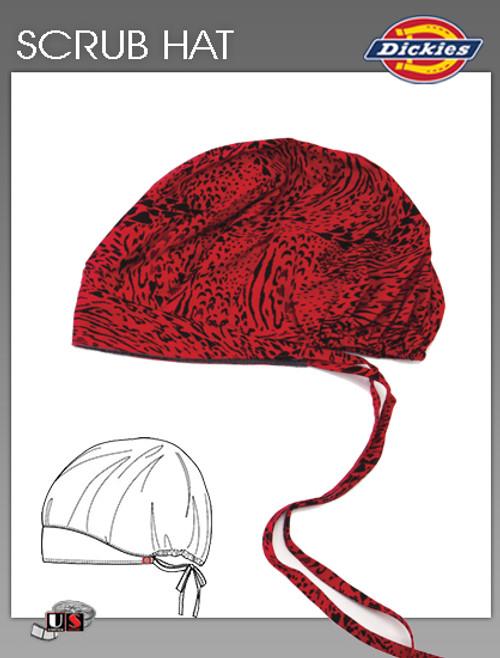 Dickies Printed My Untamed Heart Scrub Hat