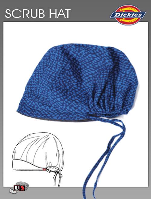 Dickies Printed Wild Hearts Scrub Hat