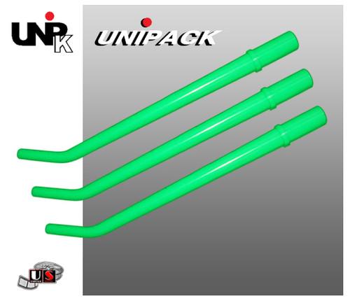 UNIPACK Disposable Surgical Aspirator Tips- Green