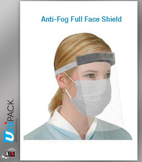 UNIPACK Anti-Fog Full Face ShIeld