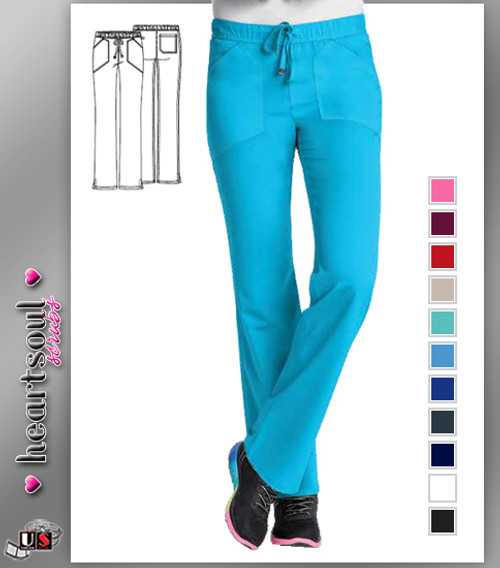 "HeartSoul Women's ""Drawn To You"" Low Rise Drawstring Pant"