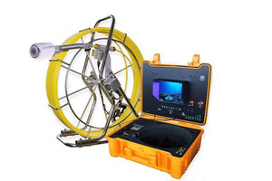 Sewer Drain Camera  300' Cable 512Hz Sonde DVR with Footage Counter