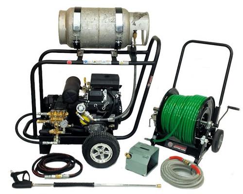 Cart Kit 5540 Propane - 25 HP, 5.5 GPM, 4000 PSI, Garden Hose Inlet
