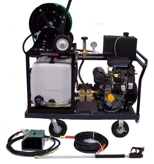 Platform Cart 1030 - 27 HP, 10 GPM, 3000 PSI, 30 Gallon