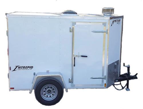 58C Cargo Trailer Hot Jetter 1140 - 37 HP, 11 GPM, 4000 PSI, 200 Gallon
