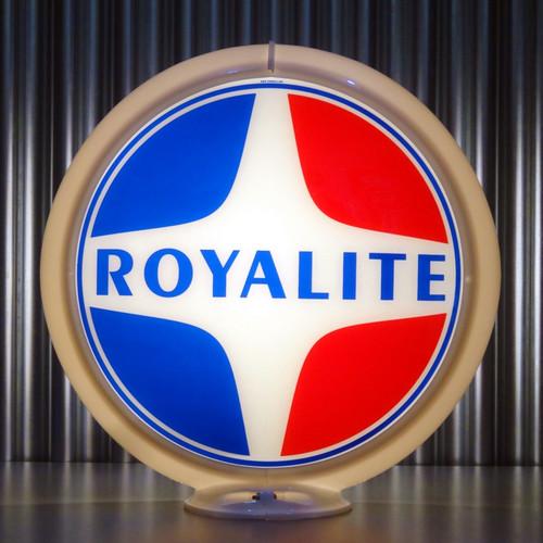 "Royalite (Late) Gasoline - 13.5"" Gas Pump Lenses"