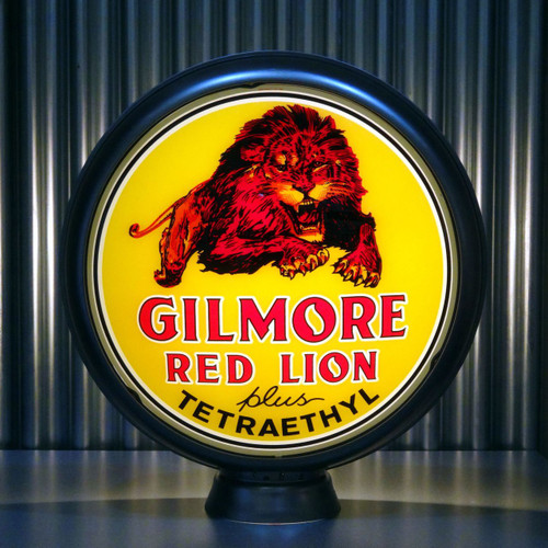 "Gilmore Red Lion Gasoline 15"" Lenses"