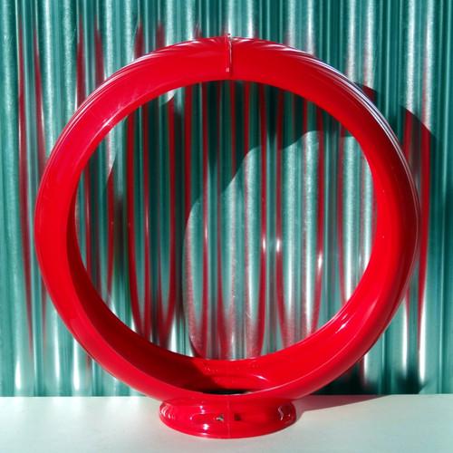 """13.5"""" Red Capco Globe Body"""