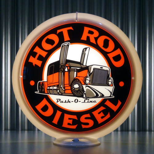 "Hot Rod Diesel - 13.5"" Ltd Ed Globe"