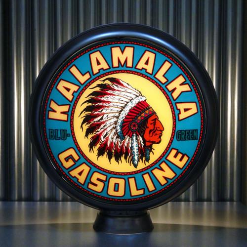 "Kalamalka Blu-Green Gasoline 15"" Ltd Ed Lenses"