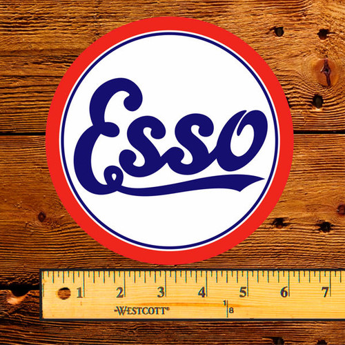"Esso Gasoline & Oil 6"" Decal"