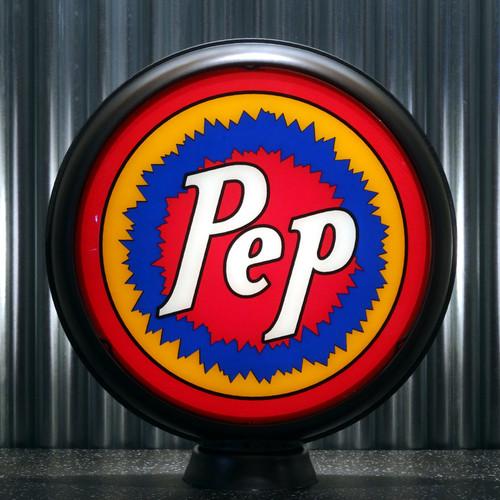 "Pep Boys PEP Gasoline 15"" Limited Edition Lenses"