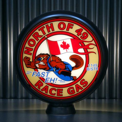 North of 49 custom globe | Pogo's Garage