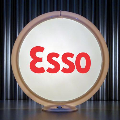 """ESSO Gasoline - 13.5"""" Gas Pump Lenses"""