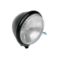 "5 3/4"" H4 Headlight - Black"