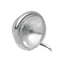 "5 3/4"" H4 Headlight - Silver"
