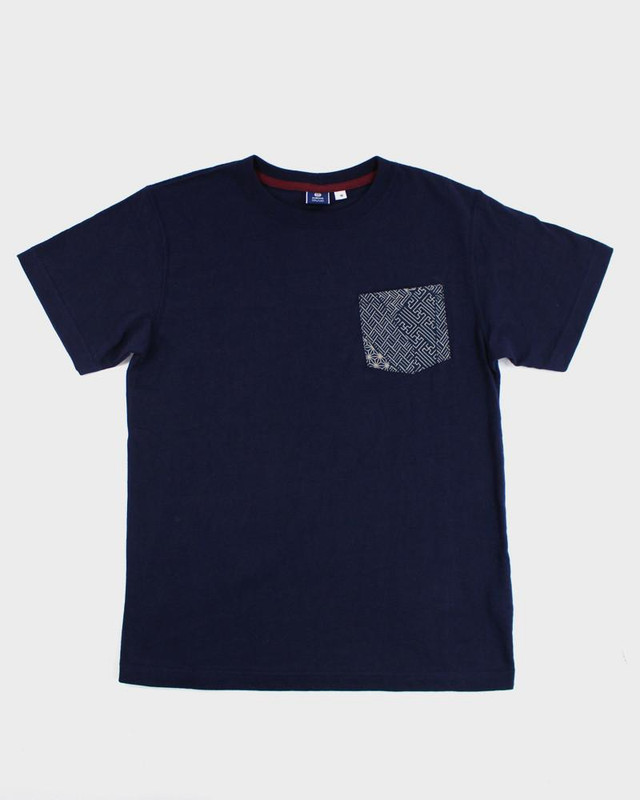 9oz Pocket Tee, Navy